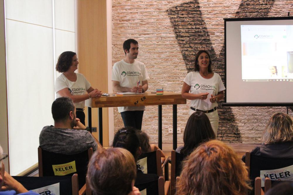 Evento de presentación de Coachya.es