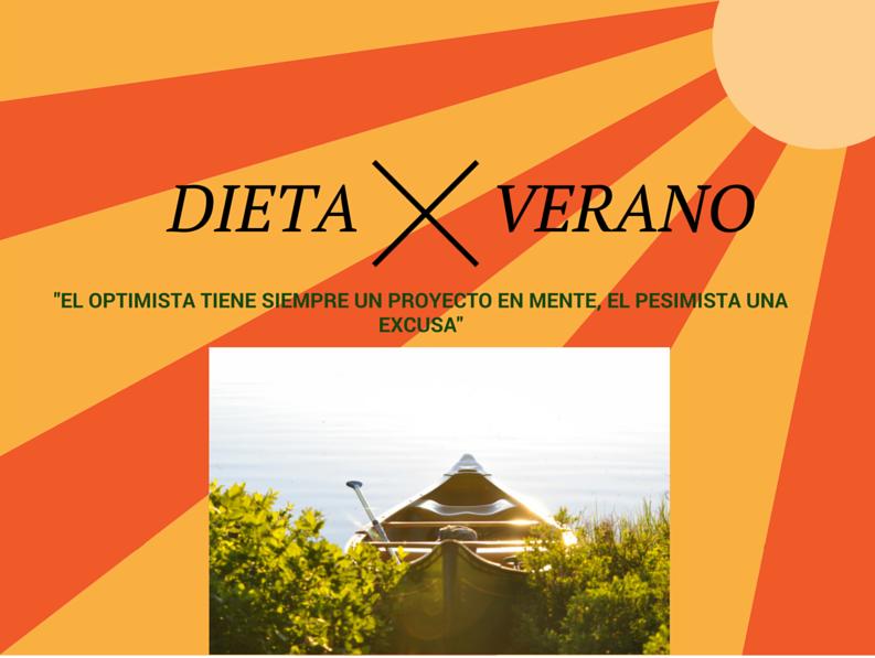 """HACER DIETA EN VERANO Y NO """"MORIR"""" EN EL INTENTO"""