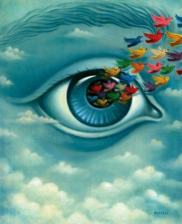 Equilibrar la actividad mental y la tensión muscular moviendo los ojos.